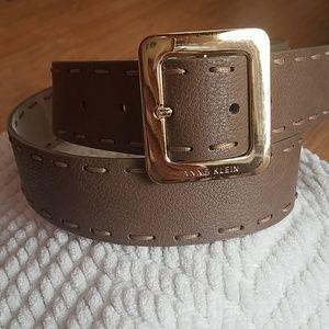 Anne Klein leather belt large
